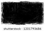 vintage frame with grunge... | Shutterstock .eps vector #1201793686