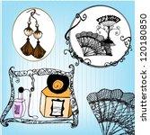 Illustrated Vintage Items  ...