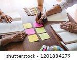 high school or college student... | Shutterstock . vector #1201834279
