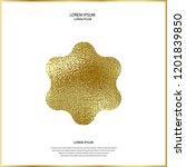 premium quality golden label... | Shutterstock .eps vector #1201839850