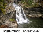 with over 150 waterfalls that... | Shutterstock . vector #1201897039