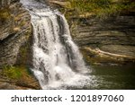 with over 150 waterfalls that... | Shutterstock . vector #1201897060