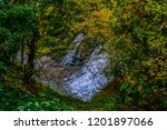 with over 150 waterfalls that... | Shutterstock . vector #1201897066