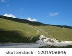lake kezenoy am in caucasus... | Shutterstock . vector #1201906846