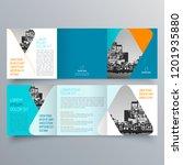 brochure design  brochure... | Shutterstock .eps vector #1201935880