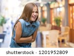 young beautiful girl over... | Shutterstock . vector #1201952809
