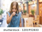 young beautiful girl over... | Shutterstock . vector #1201952833