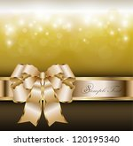 abstract background with gold... | Shutterstock .eps vector #120195340