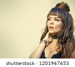 beauty and hairdressing salon....   Shutterstock . vector #1201967653