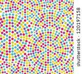 seamless  dot pattern   Shutterstock .eps vector #120197158