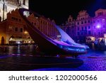 prague  cz   october 11  2018 ...   Shutterstock . vector #1202000566