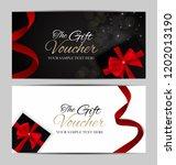 luxury members  gift card...   Shutterstock .eps vector #1202013190