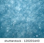 the winter background  falling... | Shutterstock . vector #120201643