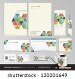 corporate identity business set ... | Shutterstock .eps vector #120201649