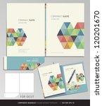 corporate identity business set....   Shutterstock .eps vector #120201670