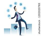 businessman.businessman looking ... | Shutterstock .eps vector #1202020783