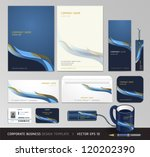 corporate identity business set ... | Shutterstock .eps vector #120202390