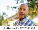 mature african american man   Shutterstock . vector #1202048503