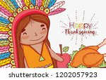 man indigenous with apple and...   Shutterstock .eps vector #1202057923