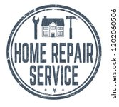 home repair service sign or... | Shutterstock .eps vector #1202060506