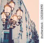Streetlight Against Building...