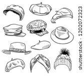 Set Of 11 Fashion Women's Hats...