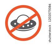 no ufo symbol design... | Shutterstock .eps vector #1202075086