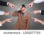 accusation guilty business...   Shutterstock . vector #1202077753