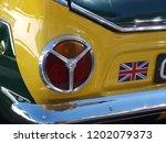 Rear Detail Of Classic Sport Car