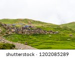 Green Terraced Fields And...