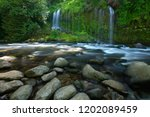 Mossbrae Falls in northern California