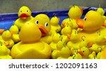 hook a duck fairground game   Shutterstock . vector #1202091163
