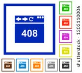 browser 408 request timeout... | Shutterstock .eps vector #1202110006