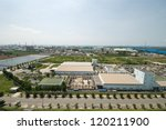 top view of petrochemical... | Shutterstock . vector #120211900