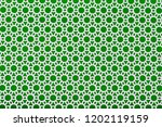 white perforated steel plate on ... | Shutterstock . vector #1202119159