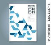 abstract minimal geometric... | Shutterstock .eps vector #1202123746