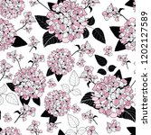 Seamless Pattern With Elegant...