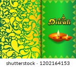 happy deepawali 2018 | Shutterstock . vector #1202164153