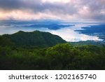 taal volcano on luzon island at ... | Shutterstock . vector #1202165740