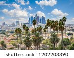 beautiful cloudy day of los... | Shutterstock . vector #1202203390