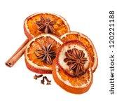 Christmas Orange With Cinnamon...