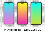 vector realistic smartphone...