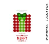 gift box with ribbon for... | Shutterstock .eps vector #1202251426
