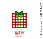 gift box with ribbon for... | Shutterstock .eps vector #1202251429