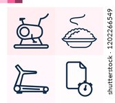 contains such icons as porridge ... | Shutterstock .eps vector #1202266549