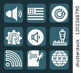 contains such icons as... | Shutterstock .eps vector #1202268790