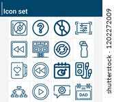 contains such icons as playoff  ... | Shutterstock .eps vector #1202272009