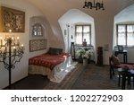 bran  transylvania romania  ... | Shutterstock . vector #1202272903
