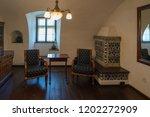 bran  transylvania romania  ... | Shutterstock . vector #1202272909