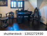 bran  transylvania romania  ... | Shutterstock . vector #1202272930